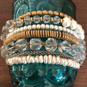 Silpada Practical Pearls Wrap Bracelet KRB0003